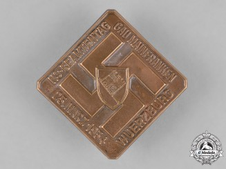 Germany. A 1934 Würzburg National Socialist Day of Administrative Officials Badge