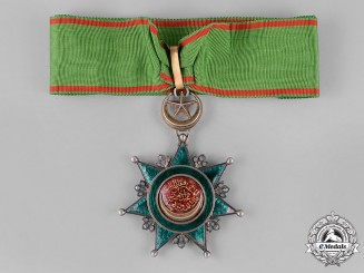 Turkey, Ottoman Empire. An Order of Osmania (Osmanli); III Class Commander
