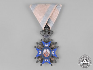Serbia, Kingdom. An Order of St. Sava, V Class Knight, c.1910