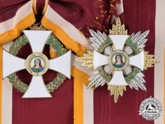San Marino, Republic. An Order of Saint Agatha, Grand Cross