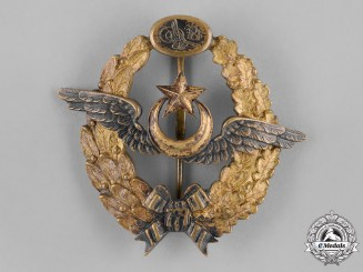 Turkey, Ottoman Empire. A Pilot's Badge, c.1918