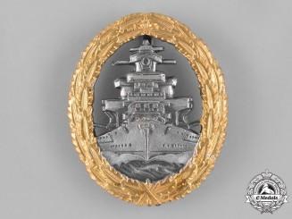 Germany, Federal Republic. A Kriegsmarine High Seas Fleet Badge, Alternative 1957 Version