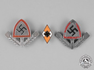 Germany. Three Badges