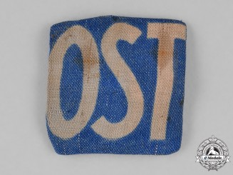 "Germany. ""Eastern Worker's ""OST"" Patch"