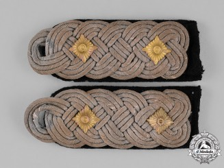 Germany, Heer. A Pair of Army/Heer Oberst's Shoulder Boards, Pioniere (Engineers)