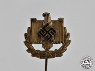 Germany. A 1941 DRL Sports Badge