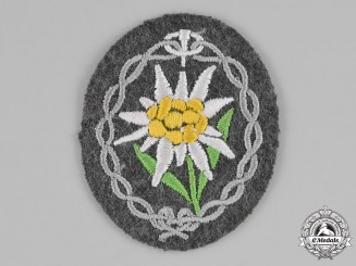 Germany. A Mountain Troop Edelweiss Sleeve Insignia