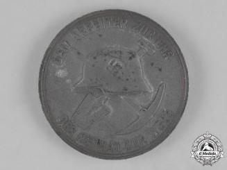 Germany. A 1938 Holzmann Construction Crew Employee Badge