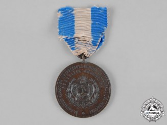 Argentina. A Medal for Allied Troops in Operations Against Paraguay, Bronze Grade
