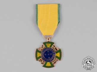 Brazil, Republic. A Second War Brazilian War Cross 1942-1945