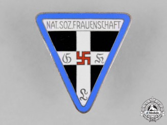 Germany. An Orts Level National Socialist Women's League Membership Badge