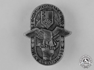 Germany. A 1939 Vienna Reich Colonial League Day Badge