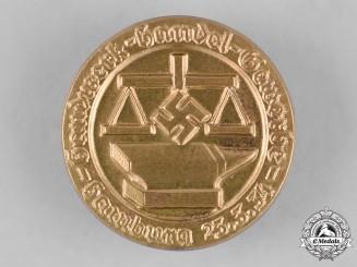 Germany. A  1934 Hamburg Craftsmen and Commerce Association Badge