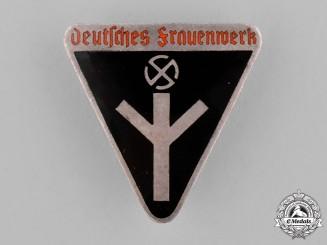 Germany. A Women's Welfare Organization Membership Badge, by Karl Wurster
