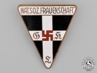 Germany. A Women's Welfare Organization Membership Badge, Large Version
