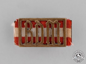 Germany. A League of German Girls Leader's Badge, Numbered 85766