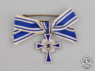 Germany, Third Reich. A First Class Cross of Honour of the German Mother Miniature Breast Badge