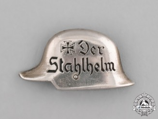 Germany, Weimar. A Stahlhelm Membership Badge