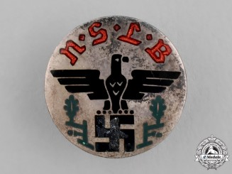 Germany. A National Socialist Teacher's Union Membership Badge, by Hoffstätter of Bonn