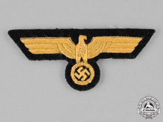 Germany, Kriegsmarine. A Kriegsmarine (Navy) Officer's Breast Eagle