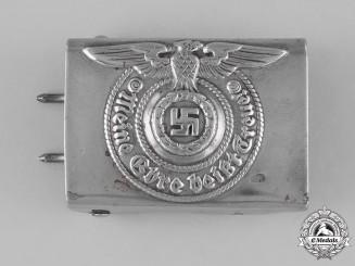 Germany, Waffen-SS. A Waffen-SS EM/NCO's Belt Buckle, by Assmann & Söhne