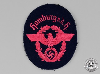 Germany, Fire Police. A Hamburg Fire Protection Police Sleeve Patch
