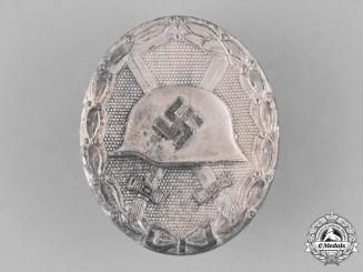 Germany, Wehrmacht. A Wound Badge, Silver Grade, by Klein & Quenzer