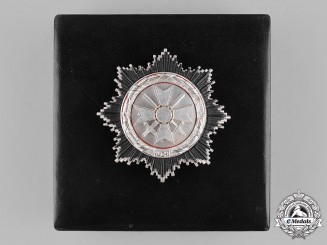 Germany, Federal Republic. A Cased German Cross in Silver; Alternative 1957 Version