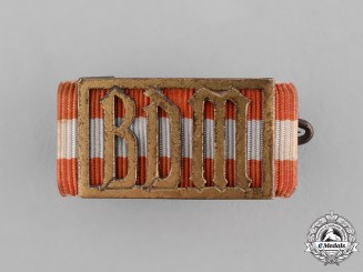 Germany, BDM. A League of German Girls Leader's Proficiency Sports Badge