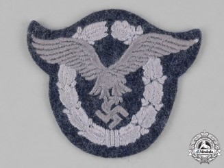 Germany, Luftwaffe. A Luftwaffe Pilot's Badge, Cloth Version