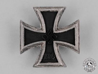 Germany, Wehrmacht. A I. Class Iron Cross 1939, by C.F. Zimmermann