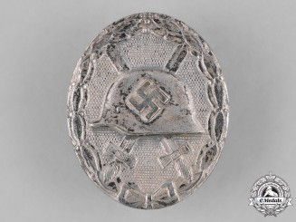 Germany, Wehrmacht. A Wound Badge, Silver Grade, c. 1943