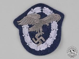 Germany, Luftwaffe. An Observer Badge, Cloth Version