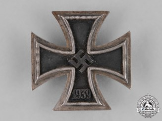 Germany, Wehrmacht. A I. Class Iron Cross 1939, by Schauerte & Höfelt, Uncommon Variant
