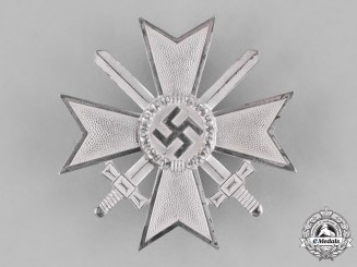 Germany, Wehrmacht. A War Merit Cross First Class with Swords