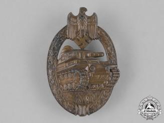Germany, Heer. A Wehrmacht Heer (Army) Panzer Assault Badge, Bronze Grade.