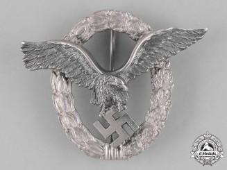 Germany, Luftwaffe. A Luftwaffe Pilot's Badge, by Gebrüder Schneider