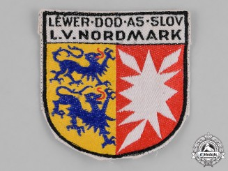Germany, Weimar. A Nordmark Regional Coat of Arms Veterans Sleeve Patch
