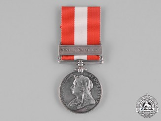 United Kingdom. A Canada General Service Medal, St. Placide Infantry Company
