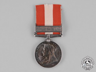 United Kingdom. A Canada General Service Medal, 15th (Belleville Infantry) Battalion