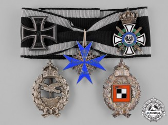 "Germany, Empire. A Pour-le-Merite and Career Medals and Awards of the ""Iron Commander"" Leo Leonhardy"