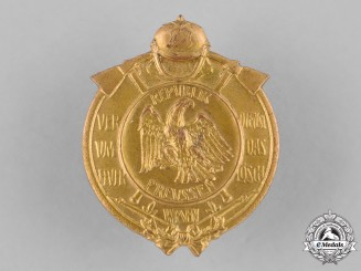 Germany, Weimar. A Prussian Fire Brigade Long Service Medal