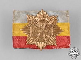 Germany, Imperial. A 1915 Mecklenburg-Strelitz Veterans Association Badge