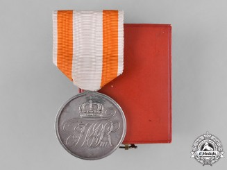 Prussia, Kingdom. A Cased Prussian General Honour Medal