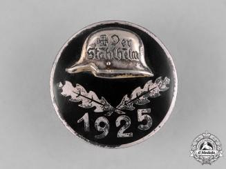 Germany, Weimar. A 1925 Stahlhelm Membership Badge