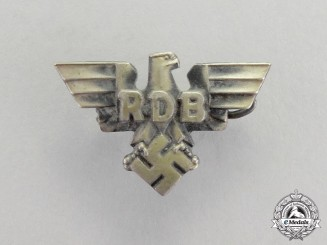 Germany,. A Reich Federation of German Civil Servants Supporter's Badge