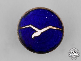 "Germany, DLV. A German Air Sports Association (DLV) Class ""A"" Gliding Proficiency Badge"