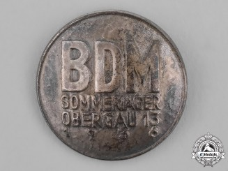 Germany, BDM. A 1936 League of German Maidens (BDM) Summer Camp Badge