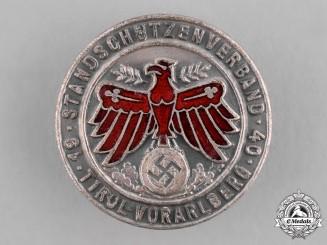 Austria, Third Reich. A 1940 Austrian Rifle Company Membership Badge