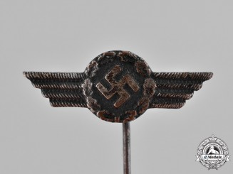 Germany, Luftwaffe. A Luftwaffe Civilian Employee Stick Pin